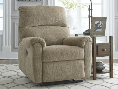 Ashley McTeer Power Recliner Chair in Mocha Colour by Midha's Furniture Serving Brampton, Mississauga, Etobicoke, Toronto, Scraborough, Caledon, Cambridge, Oakville, Markham, Ajax, Pickering, Oshawa, Richmondhill, Kitchener, Hamilton and GTA area