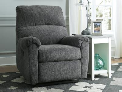 Ashley McTeer Power Recliner Chair with One-Touch Power Control by Midha's Furniture Serving Brampton, Mississauga, Etobicoke, Toronto, Scraborough, Caledon, Cambridge, Oakville, Markham, Ajax, Pickering, Oshawa, Richmondhill, Kitchener, Hamilton and GTA area