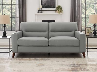Amax Leather Stylish Miami Sofa in Top Grain Leather by Midha's Furniture Serving Brampton, Mississauga, Etobicoke, Toronto, Scraborough, Caledon, Cambridge, Oakville, Markham, Ajax, Pickering, Oshawa, Richmondhill, Kitchener, Hamilton and GTA area
