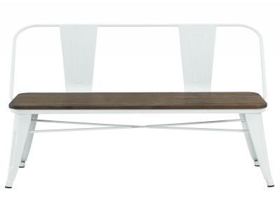MODUS-DOUBLE BENCH-WHITE