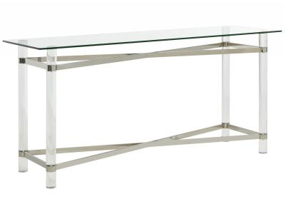 MORELIA-CONSOLE TABLE-CHROME