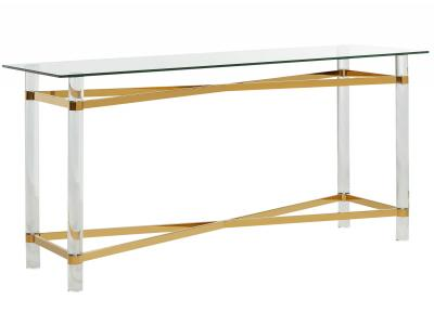 MORELIA-CONSOLE TABLE-GOLD