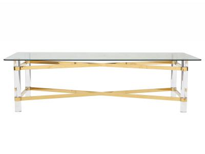 MORELIA II-COFFEE TABLE-GOLD