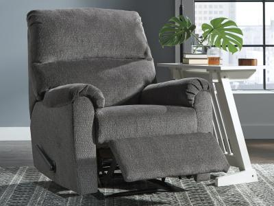 Ashley Nerviano Recliner Chair with  One-Pull Reclining Motion by Midha's Furniture Serving Brampton, Mississauga, Etobicoke, Toronto, Scraborough, Caledon, Cambridge, Oakville, Markham, Ajax, Pickering, Oshawa, Richmondhill, Kitchener, Hamilton and GTA area