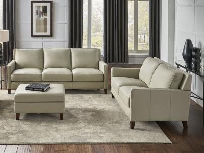 Amax Leather New Haven Modern Sofa in 100% Leather by Midha's Furniture Serving Brampton, Mississauga, Etobicoke, Toronto, Scraborough, Caledon, Cambridge, Oakville, Markham, Ajax, Pickering, Oshawa, Richmondhill, Kitchener, Hamilton and GTA area