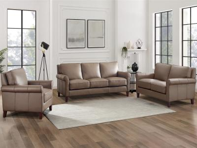 New London Modern Sofa by Amax Leather in Dark Brown Finish by Midha's Furniture Serving Brampton, Mississauga, Etobicoke, Toronto, Scraborough, Caledon, Cambridge, Oakville, Markham, Ajax, Pickering, Oshawa, Richmondhill, Kitchener, Hamilton and GTA area