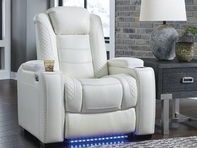 Ashley Party Time Power Recliner with Adjustable Headrest by Midha's Furniture Serving Brampton, Mississauga, Etobicoke, Toronto, Scraborough, Caledon, Cambridge, Oakville, Markham, Ajax, Pickering, Oshawa, Richmondhill, Kitchener, Hamilton and GTA area