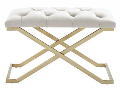 RADA-SINGLE BENCH-IVORY/GOLD