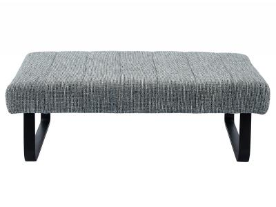 SIRUS-COCKTAIL OTTOMAN-GREY BLEND