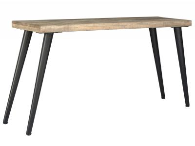 TAROS-CONSOLE TABLE-RECLAIMED/BLACK LEG