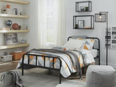 Trentlore Twin Platform Bed by Ashley by Midha's Furniture Serving Brampton, Mississauga, Etobicoke, Toronto, Scraborough, Caledon, Cambridge, Oakville, Markham, Ajax, Pickering, Oshawa, Richmondhill, Kitchener, Hamilton and GTA area