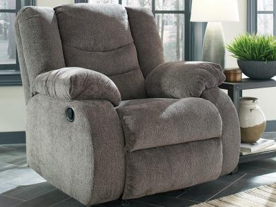 Ashley Tulen Rocker Recliner with Plump Pillow Top by Midha's Furniture Serving Brampton, Mississauga, Etobicoke, Toronto, Scraborough, Caledon, Cambridge, Oakville, Markham, Ajax, Pickering, Oshawa, Richmondhill, Kitchener, Hamilton and GTA area