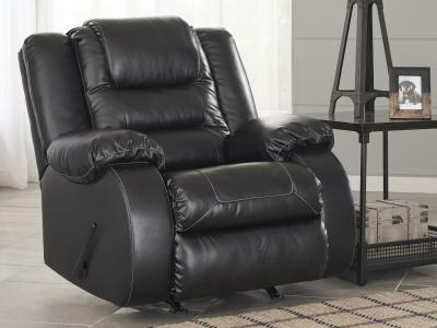 Ashley Vacherie Rocker Recliner in Faux Leather by Midha's Furniture Serving Brampton, Mississauga, Etobicoke, Toronto, Scraborough, Caledon, Cambridge, Oakville, Markham, Ajax, Pickering, Oshawa, Richmondhill, Kitchener, Hamilton and GTA area