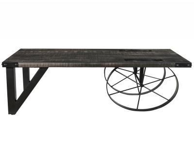 ZAHIR-COFFEE TABLE-DISTRESSED GREY
