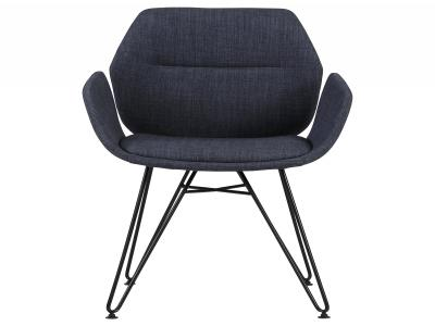 ZANE-ACCENT CHAIR-BLUE