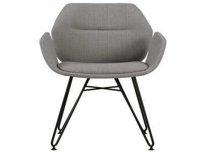 ZANE-ACCENT CHAIR-GREY
