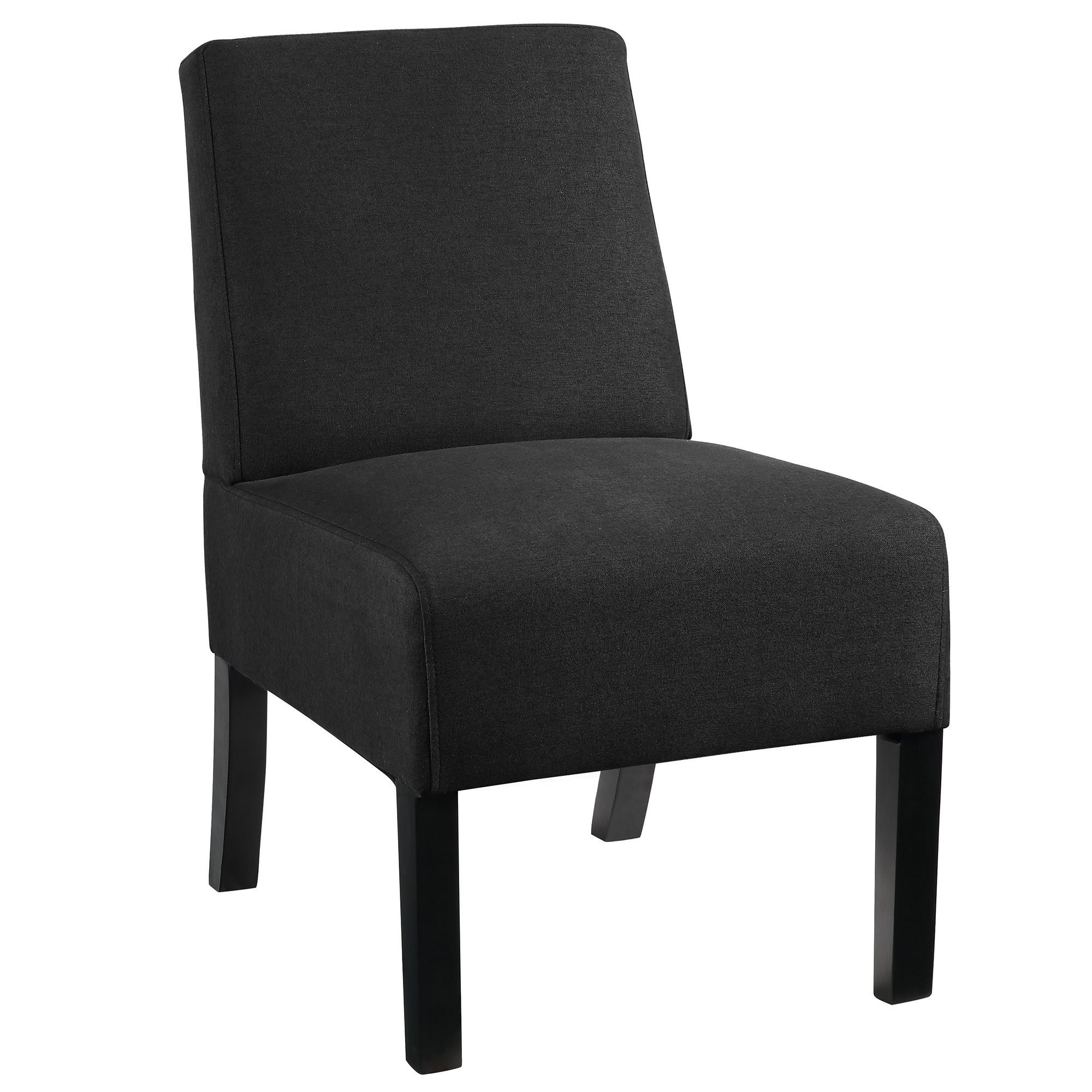 TINO-ACCENT CHAIR-BLACK, 841173032586, Accent Chairs by Midha Furniture to Brampton, Mississauga, Etobicoke, Toronto, Scraborough, Caledon, Oakville, Markham, Ajax, Pickering, Oshawa, Richmondhill, Kitchener, Hamilton and GTA area