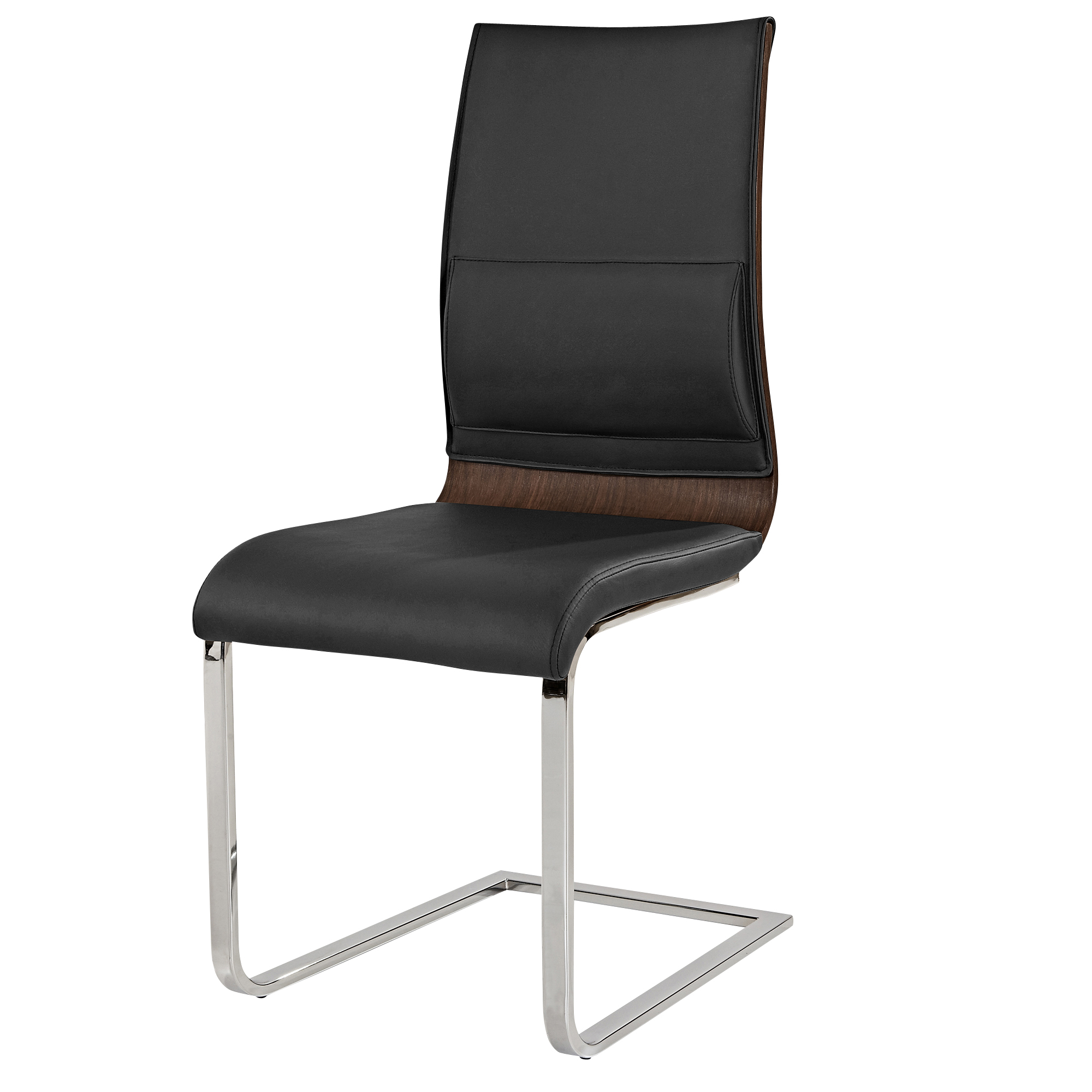 VENETA-SIDE CHAIR-WALNUT, 841173020422, Dining Chairs by Midha Furniture to Brampton, Mississauga, Etobicoke, Toronto, Scraborough, Caledon, Oakville, Markham, Ajax, Pickering, Oshawa, Richmondhill, Kitchener, Hamilton and GTA area