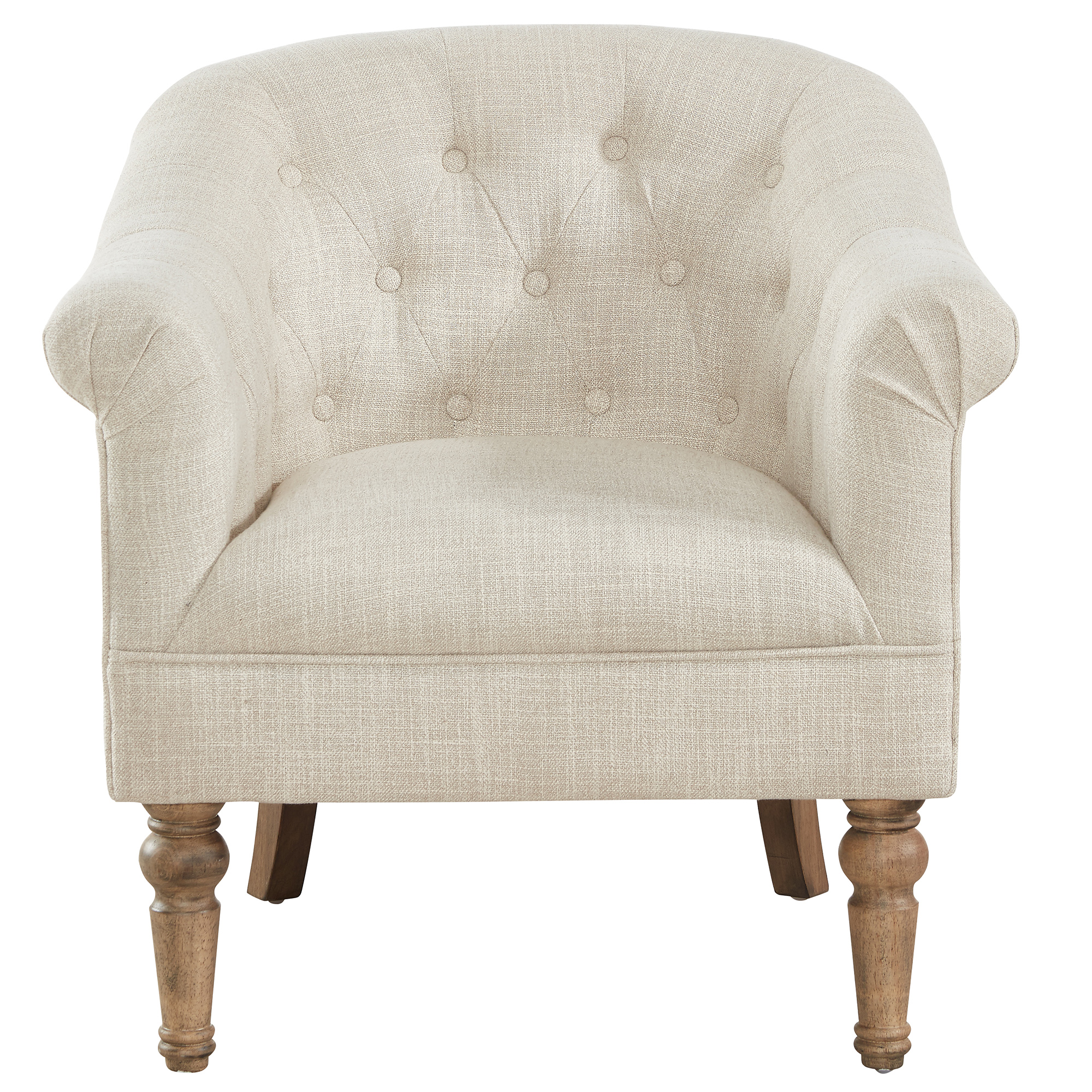 WELBECK-ACCENT CHAIR-BEIGE, 841173028466, Accent Chairs by Midha Furniture to Brampton, Mississauga, Etobicoke, Toronto, Scraborough, Caledon, Oakville, Markham, Ajax, Pickering, Oshawa, Richmondhill, Kitchener, Hamilton and GTA area